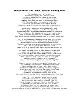 Observations of a burning candle make up assignment sample bar mitzvah candle lighting ceremony poem aloadofball Choice Image