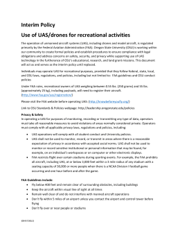 UAS Recreation Policy - DRAFT (00457280-2