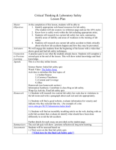 Lesson Plan - Emily R. Strong
