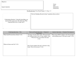 Comparing and contrasting two books essay
