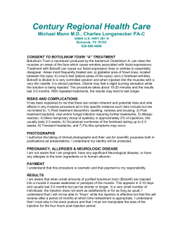 Consent Form - Century Regional Health Care Family Practice