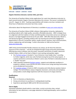Organic Chemistry Instructor, Summer 2015, part