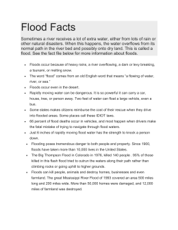 Flood Facts
