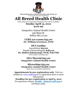 All Breed Health Clinic