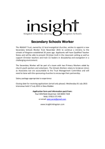 Royal Borough of Kingston Schools Christian Worker Trust