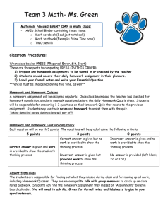 6th grade Syllabus - Geary County Schools USD 475
