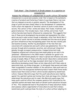 consumerism essay consumerism handout 2014