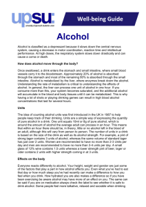 Well-being Guide Alcohol
