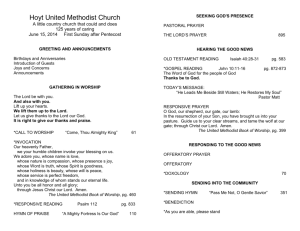 June_15__2014_bulletin - Hoyt United Methodist Church
