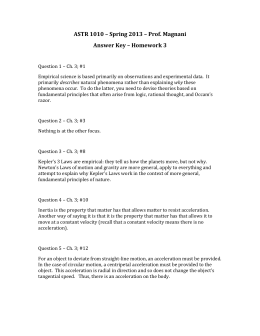 Physics L: Universal Gravitation Worksheet
