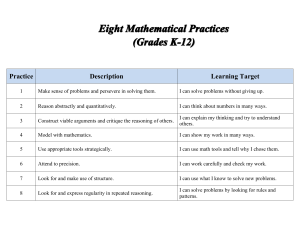Third Grade Math Pacing Guide