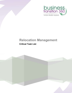 Relocation Management - Business Transition 360