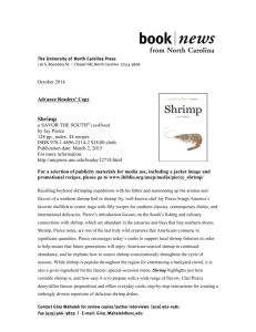 SHRIMP Early Book Description