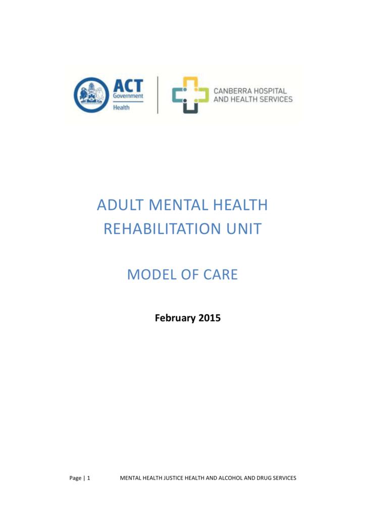 Adult Mental Health Rehabilitation Unit Amhru
