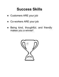 Week 1 (Success Skills)