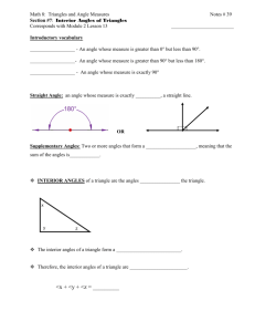 Graphing Linear Functions & Inequalities
