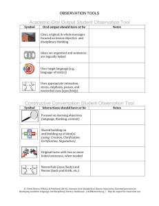 Interation-Output-Math Reasoning Observation Tools