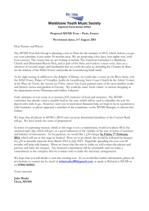 Proposed MYMS Tour Letter December 2013