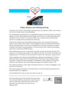 Public libraries and lifelong learning case study (Word