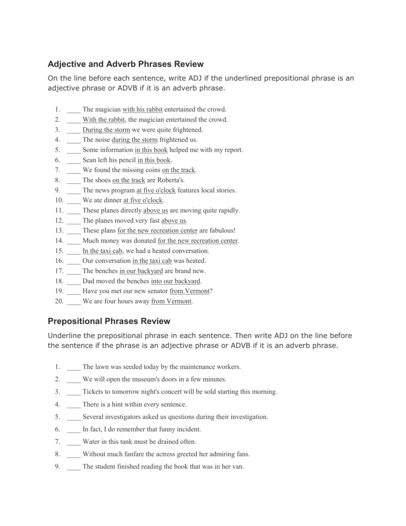 Prepositional Phrase worksheet - Free ESL printable worksheets ...