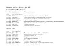 Program BioEnv research day_updated