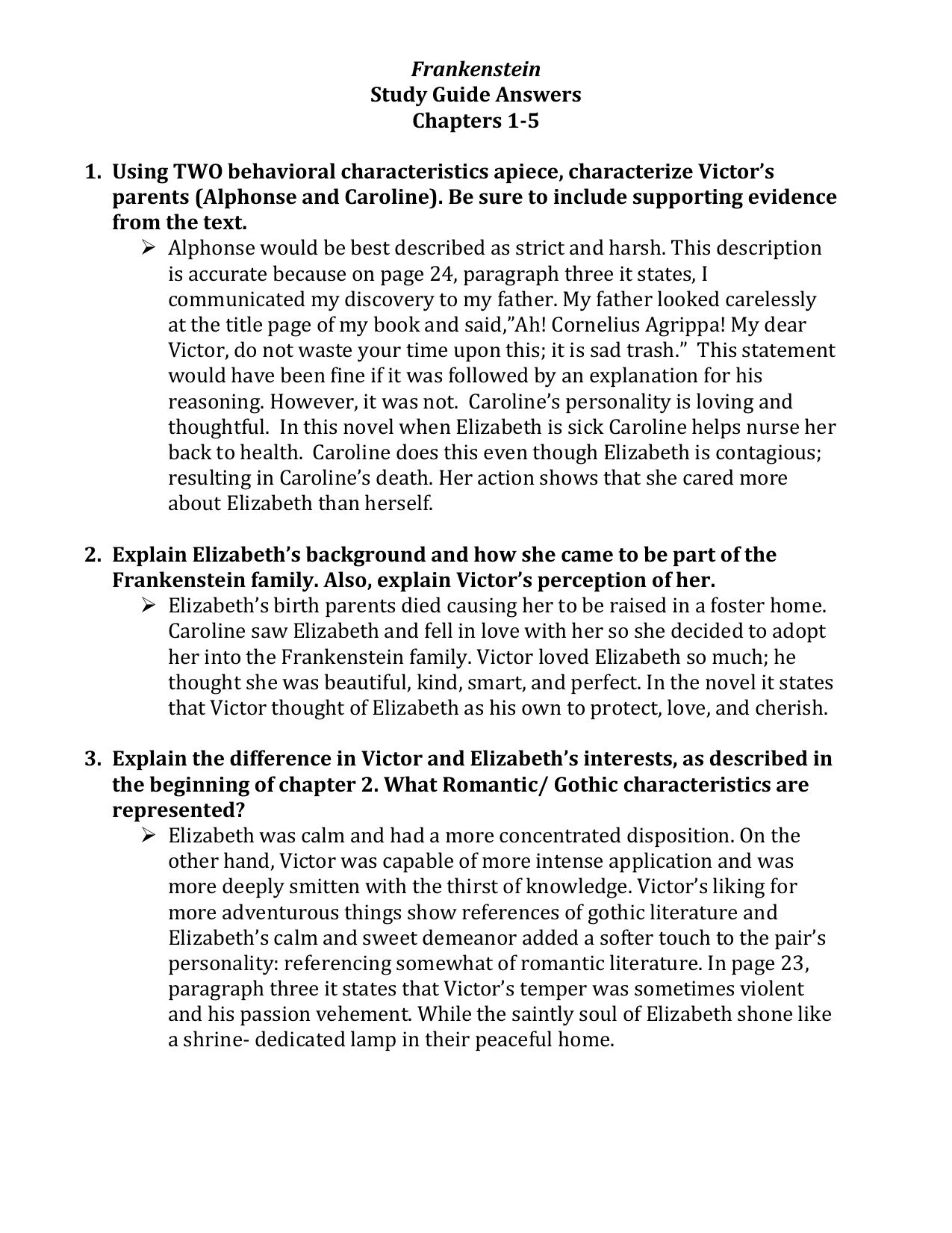 frankenstein study guide answers chapters 1 rh studylib net frankenstein study guide answers letters 1-4 frankenstein study guide answers pdf