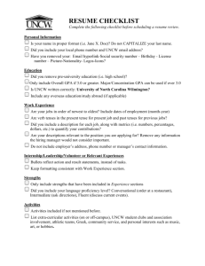 Alternate Resume Sections C T Bauer College Of Business