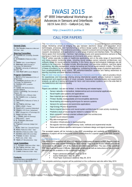 Call for Papers - IWASI 2015_rev 10