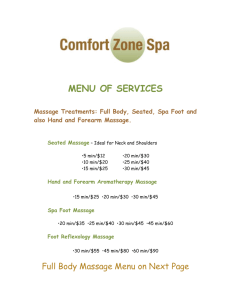 File - Comfort Zone Spa