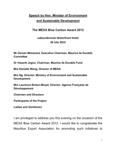 12.07.26 Mexa Blue Carbon Award