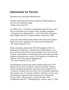 Information for Parents - Ewing Township Public Schools