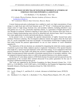 on the issue of spectra of nonlinear thomson scattering of strongly