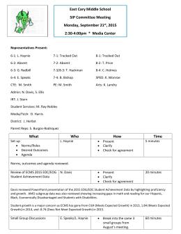 Scores by School and Grade Level - Clayton County Public Schools