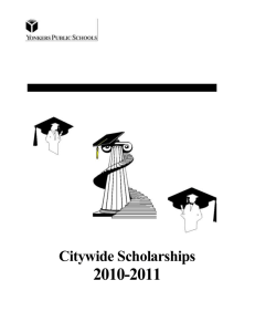 Citywide Scholarships - Yonkers Middle High School