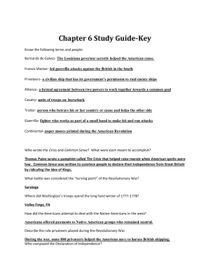 Chapter 6 Study Guide-Key