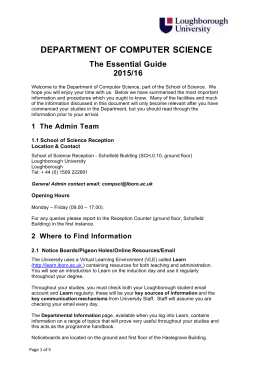 The Essential Guide 2015/16