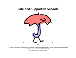 Safe and Supportive School