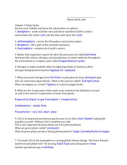 Microsoft Word Cycles Worksheet Doc