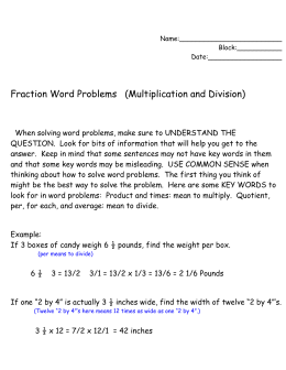 Math Help Word Problems Arithmatic To Geometry