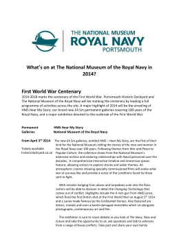 our leaflet here - National Museum of the Royal Navy