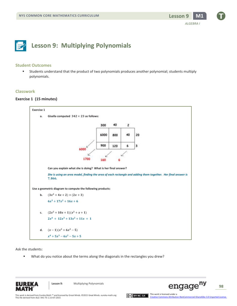 Worksheet Multiplying Polynomials Worksheet With Answers Worksheet
