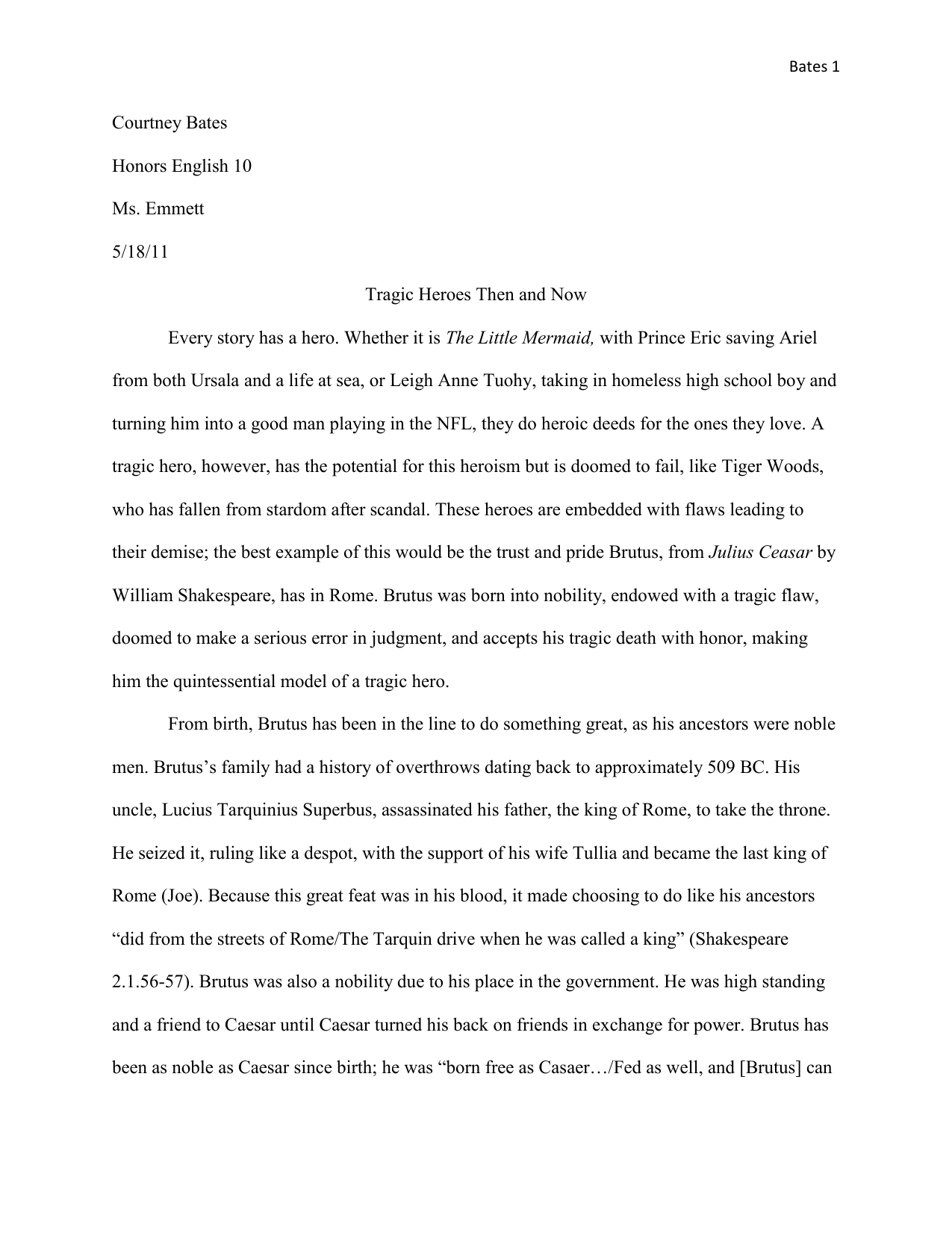 Admission essay review
