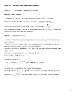 Worksheets Confidence Interval Worksheet confidence interval worksheet math 227 sullivan 4th ed