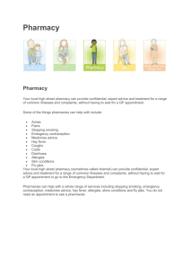 Pharmacy Leaflet