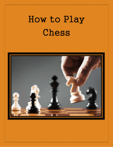 How to Play Chess - Sites at Penn State