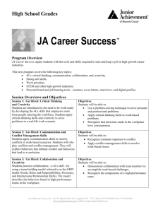 JA Career Success