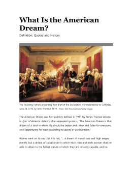 american dream or american damned essay