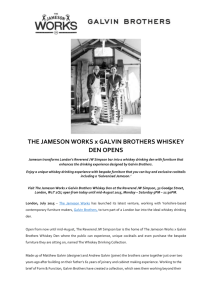 THE JAMESON WORKS x GALVIN BROTHERS
