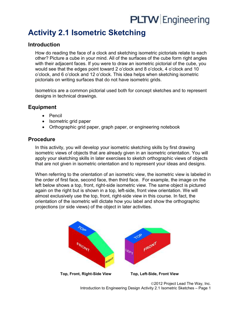 isometric projection ppt