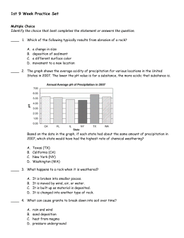 1st 9 Week Practice Set Review Answer Section